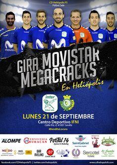 Promoción de la #giramegacracks en Sevilla 2015