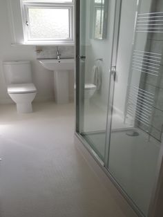 Grey Porcelain Floor Tiles For A Bathroom Installation By UK - Low cost bathrooms