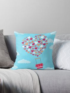 Hot ballon. Pillows. Pillow to decorate the house. Leave your sofa and house most beautiful with decorative pillows with beautiful patterns. Pillow & Cushion cover, decorative Pillow & Cushion, sofa Pillow & Cushion, floor Pillow & Cushion.