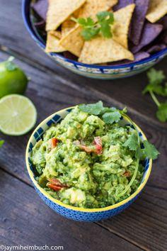 The worlds best guacamole recipe