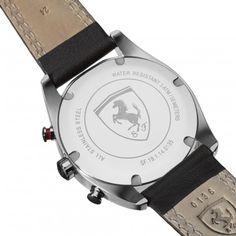 D50 Chronograph - leather strap - D50 - Scuderia Ferrari - Watches #Ferrari #FerrariStore #D50 #Cronograph #Tribute #Design #Racing #Vintage #Timepiece #Watch #World #Championship #Maranello #ScuderiaFerrari #FallWinter2014 #FW2014 #Leather #Detail #Strap #Bracelet #PrancingHorse #CavallinoRampante