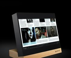Nativ is a high resolution music system that not only stores in its big physical memory, no less than a whopping 4TB of your favorite songs, it also lets you see the videos of your choice and stream what you want to hear from other media such as yout
