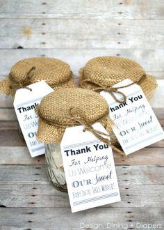 Cute idea for L nurses at hospital!  DIY Nurse Gifts via @Taryn H {Design, Dining + Diapers}