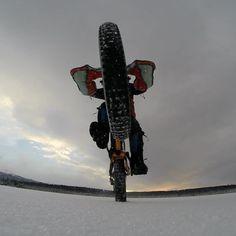 #Fatbike #ride #alaska