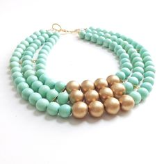 Irene Wood | Menthe Necklace