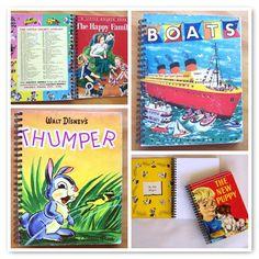 Little Golden Book journals