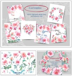 Description: Set contains Watercolor flowers (vector and high-quality raster) combinations, posies, wreaths and borders. All elements hand painted with watercolor and vectorized. You can ungroup any combination to create your one. Excellent for invitations, greeting or wedding design, save the dates, stationery, logos, greeting cards and other projects. Free for download. File format: .eps and .png for Photoshop or other vector software. File size: 160 Mb.