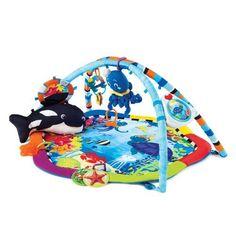 Baby Einstein Neptune Ocean Adventure Gym by KIDS II, $57.00 http://www.amazon.com/dp/B000TFGUC8/ref=cm_sw_r_pi_dp_zTHbqb0XWDD8C