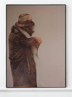 Bruno Bruni Original Artist Poster 1990 – Art & Vintage Store Ltd Vintage Prints, Vintage Posters, Museum Poster, Creative Poster Design, Poster Design Inspiration, Exhibition Poster, Fine Art Prints, Poster Prints, Artwork