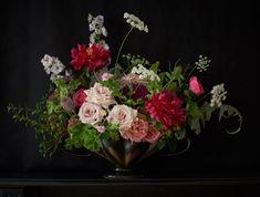 FLOWERS ~❀~ BOUQUETS   Our Flowers – Scarlet & Violet