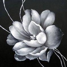 white black painting - Szukaj w Google