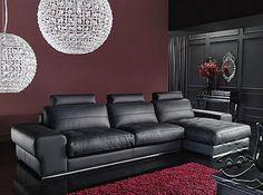 Muebles de Cuero para tu Sala - Para Más Información Ingresa en: http://fotosdesalas.com/muebles-de-cuero-para-tu-sala/