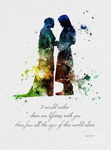 * Available sizes 10 x 8 Inches x x x For sale direct from the artist Original Art Print Aragorn and Arwen Quote, Lord of the Rings illustration created with Mixed Media and a Contemporary Design COLOUR Aragorn Und Arwen, Legolas, Wal Art, O Hobbit, Into The West, Jrr Tolkien, Lord Of The Rings, Les Oeuvres, Fantasy Art