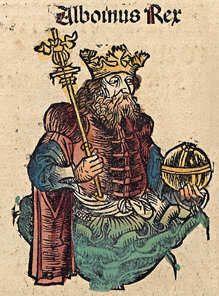 Alboino re dei longobardi