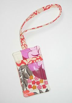 I think this will work for my lanyard with a little modification ... : quilting luggage tags - Adamdwight.com