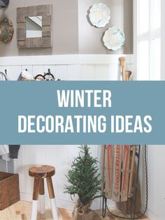 Let's face it, winter can feel like a very long cold and dreary season. After the holidays it can feel like it will be forever before we see the sun again! Here are 5 easy decorating ideas you can try to beat the winter blues in your home!