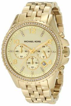d4e8ad49612 Michael Kors Women s Pilot Gold Watch