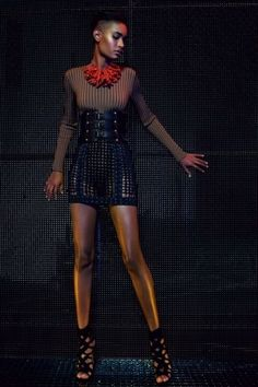 Balmain Resort 2016 Fashion Show Paris Fashion, Runway Fashion, Fashion Models, Fashion Show, Fashion Design, High End Fashion, Karl Lagerfeld, African Fashion, Celebrity Style