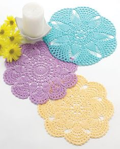 20 FREE doily patterns                                                                                                                                                                                 More