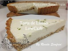 Torta de Limão LowCarb - YouTube
