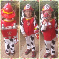 Marshall Halloween Costume, Paw Patrol Halloween Costume, Marshall Costume, Family Halloween Costumes, Halloween 2017, Diy Fireman Costumes, Baby Costumes, Marshall Paw Patrol Costume, Lifeguard Costume
