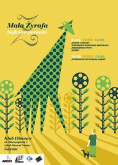 """klub filmowy """"mała żyrafa"""" zaprasza na filmy dla dzieci w Gdyni"""