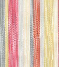 Dena Upholstery Fabric-Painted Lines/Sundance Home Decor Fabric, Fabric Crafts, Greek Pattern, Rh Rugs, Paint Line, Simple Prints, Dena, Online Craft Store, Joann Fabrics