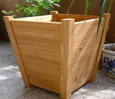 Planter boxes are ideal, where there is insufficient place for gardening. The shape, design, color and the material of the planter boxes strike a rich visual appeal to any landscape. They are also cost efficient when it comes to the maintenance of flower Garden Planter Boxes, Wooden Garden Planters, Cedar Planters, Wood Planter Box, Flower Planters, Diy Planters, Box Garden, Tall Planter Boxes, Cement Garden