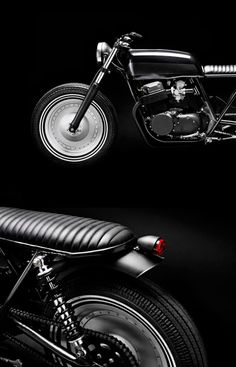 Custom motorcycles by Copenhagen based shop Wrench Monkees