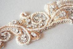 bridal sash in gold - may gold