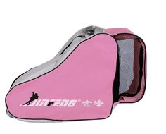 Amazon.com : Rollerblading Gear Triangle Skates Bag With Advanced Single Shoulder Pink : Sports & Outdoors