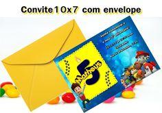 Convite 10x7 - impresso em papel fotográfico (convite+envelope) <br> <br>Lindo convite personalizado para o seu evento! <br> <br>Pedido mínimo: 10 unidades