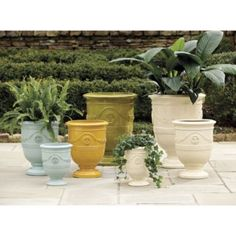 Who has the best planters? Find the perfect planter for inside or out at Ballard Designs! Shop planters, outdoor urns and planters with stands today! Large Planters, Planter Pots, Fire Clay, Outdoor Living, Outdoor Decor, Outdoor Furniture, Ballard Designs, Clay Pots, Garden Pots
