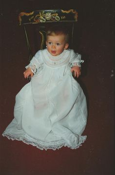 French Heirloom Sewing. Hannah's Christening dress.