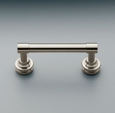 "RH's Asbury Pull comes in satin nickel.   3"", 4"", 6"" or 8"" (center-to-center screw holes)"