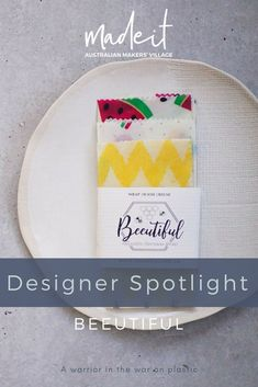 Shiou-Ling Ly creates eco-friendly beeswax wraps to help save the Earth one lunch at a time. Beautiful Kitchens, Sustainability, Christmas Ideas, Eco Friendly, Food Porn, Designers, Wraps, Packaging, Lunch