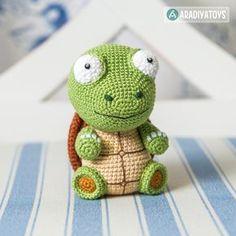 Turtle Gina Amigurumi Pattern
