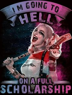 Bein like Harley Quinn Bitch Quotes, Joker Quotes, Badass Quotes, Sarcastic Quotes, Harley Quinn Et Le Joker, Harley Quinn Drawing, Harly Quinn Quotes, Arley Queen, Hearly Quinn