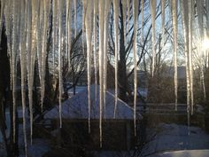 West Michigan winter's ice