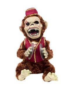 Zombie Monkey prop -- Decor idea for 2014 Carnival Zombiefest