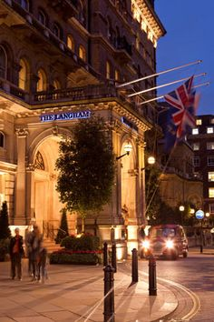 Located in London's stylish West End, The Langham Hotel London. Special memories of an anniversary weekend!!!