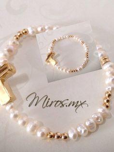 pulseras de perlas | Miros.mx