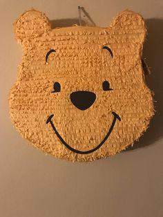 Winnie The Pooh Pinata Half Birthday Baby, Baby Birthday Themes, Birthday Pinata, Winnie The Pooh Birthday, Disney Winnie The Pooh, Baby Disney, Birthday Parties, Paper Mache Diy, Winnie The Pooh Costume