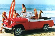 1967 Jeep Commando ... Would love one of these ... by the sea's edge of course!!!