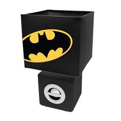 Batman Lamp with Built in Bluetooth Speaker