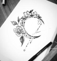 Girly tattoos, flower tattoos, small tattoos, new tattoos, beautiful tattoo Girly Tattoos, Dream Tattoos, Pretty Tattoos, Mini Tattoos, Beautiful Tattoos, Flower Tattoos, Body Art Tattoos, New Tattoos, Tribal Tattoos