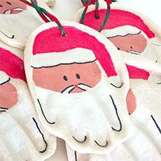 Make these salt dough ornaments with your kids to capture theyre little hand print for years to come.