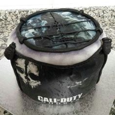 Call of Duty Ghosts cake 2