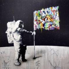 Martin Whatson Graffiti Art, Oslo, Stencil Art, Stencils, Amazing Street Art, Pop Culture Art, Urban Art, Canvas Art Prints, Pop Art