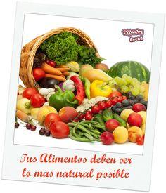 Elige alimentos que tengan el menor procesamiento posible, entre más natural mejor. #cerodietas #alimentacionsaludable #controlpeso #perdidadepeso #Qikely #salud #vidasaludable